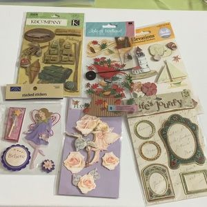 Other - Lot 43 - Scrapbook Stickers